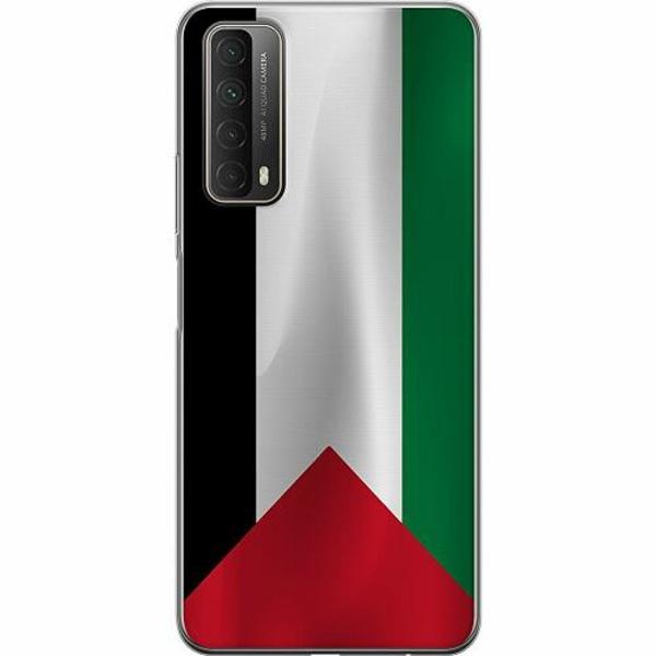 Huawei P Smart (2021) Mjukt skal - Palestina Flagga