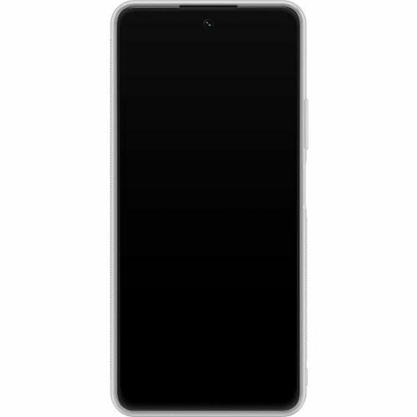 Huawei P Smart (2021) Soft Case (Frostad) White Skulls & Flowers