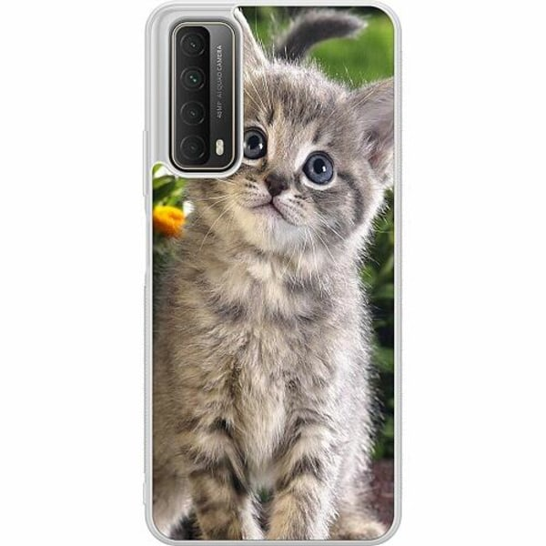 Huawei P Smart (2021) Soft Case (Frostad) Cat