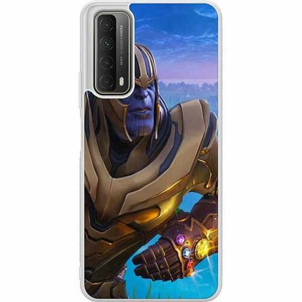 Huawei P Smart (2021) Soft Case (Frostad) Fortnite Thanos