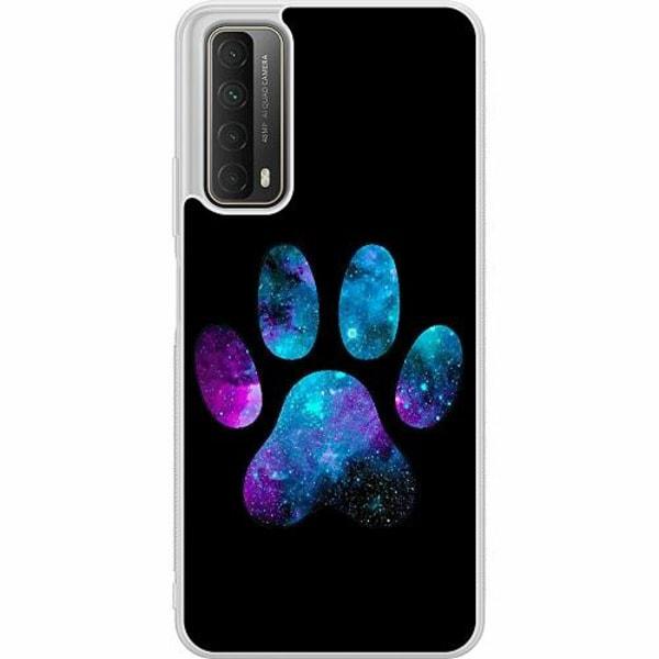 Huawei P Smart (2021) Soft Case (Frostad) Galaxy Paw