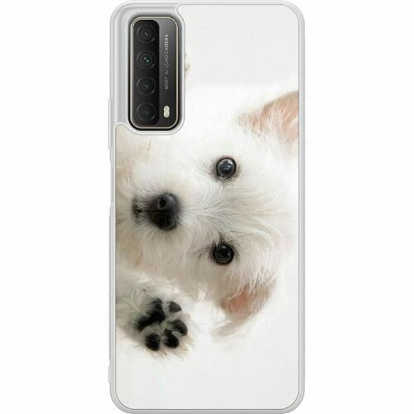Huawei P Smart (2021) Soft Case (Frostad) Hund