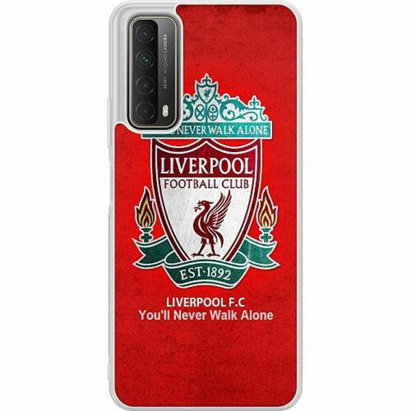 Huawei P Smart (2021) Soft Case (Frostad) Liverpool YNWA