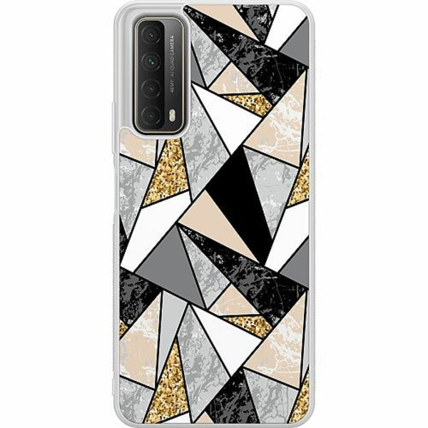 Huawei P Smart (2021) Soft Case (Frostad) Marble Print