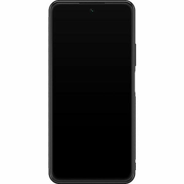 Huawei P Smart (2021) Soft Case (Svart) Golden Pattern