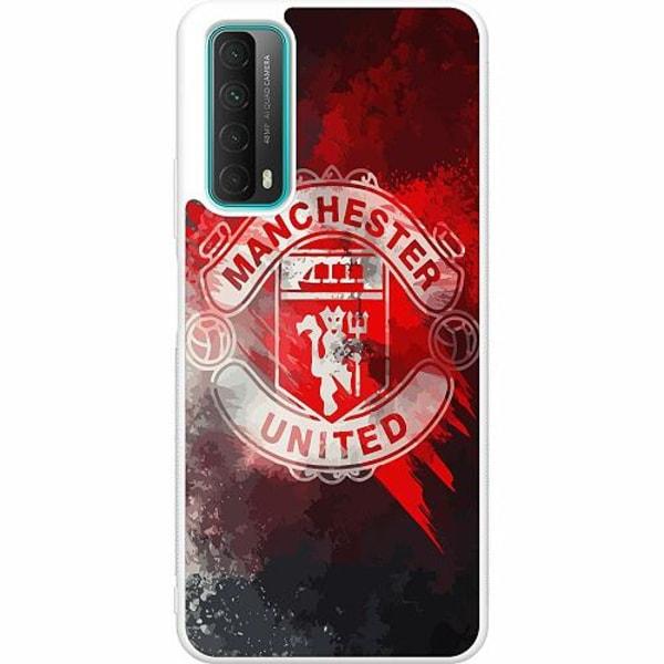 Huawei P Smart (2021) Soft Case (Vit) Manchester United FC