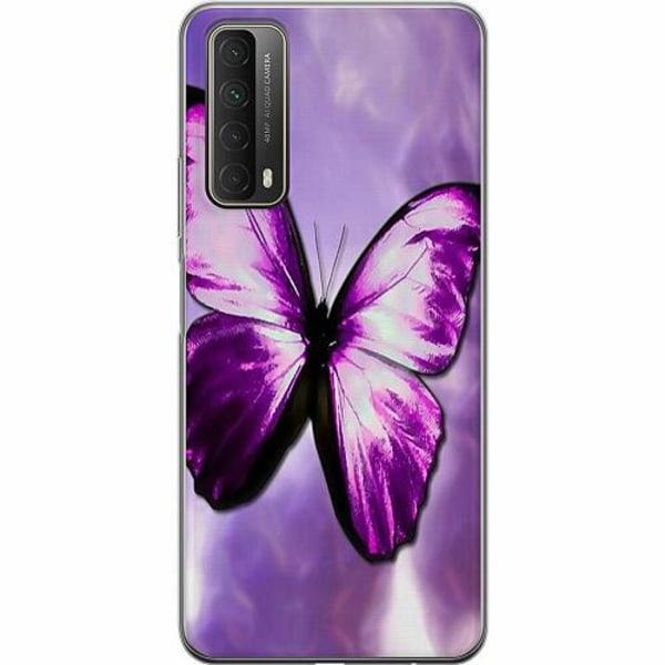 Huawei P Smart (2021) Thin Case Fjäril