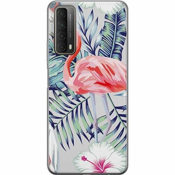 Huawei P Smart (2021) TPU Mobilskal Flamingo
