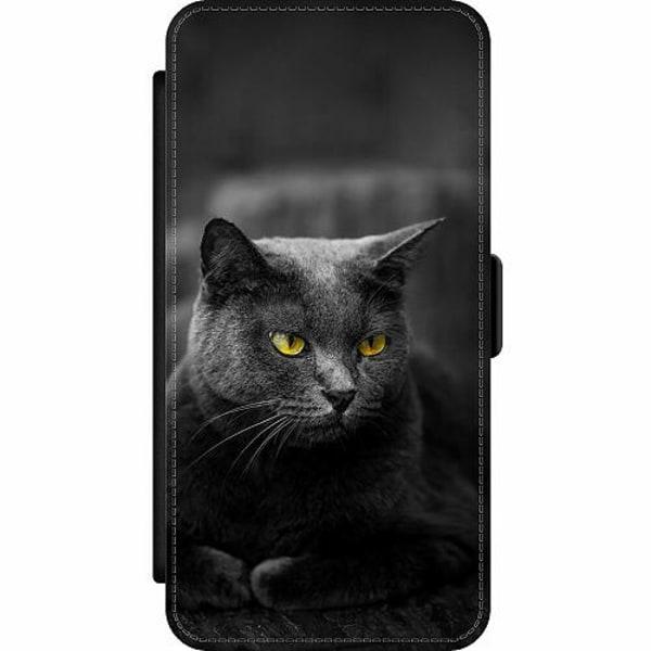 Samsung Galaxy S10 Lite (2020) Wallet Slim Case Black Cat