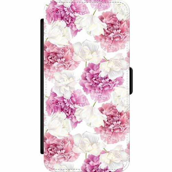 Samsung Galaxy S20 Ultra Wallet Slim Case Fluffy Flowers