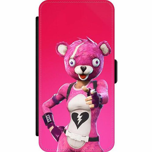 Samsung Galaxy S20 Ultra Wallet Slim Case Fortnite Pink Bear