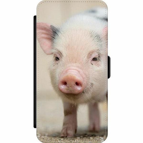 Samsung Galaxy S9+ Wallet Slim Case Happy Pig
