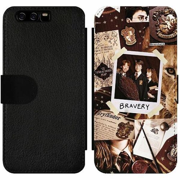 Huawei P10 Wallet Slim Case Harry Potter
