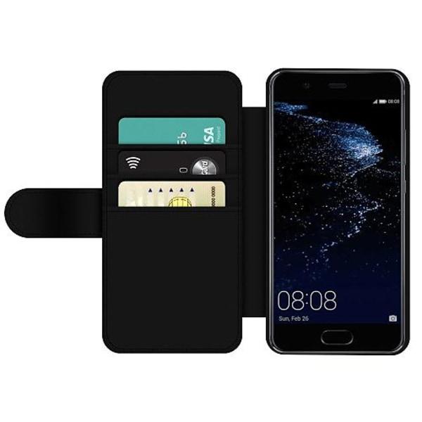 Huawei P10 Wallet Slim Case Among Us