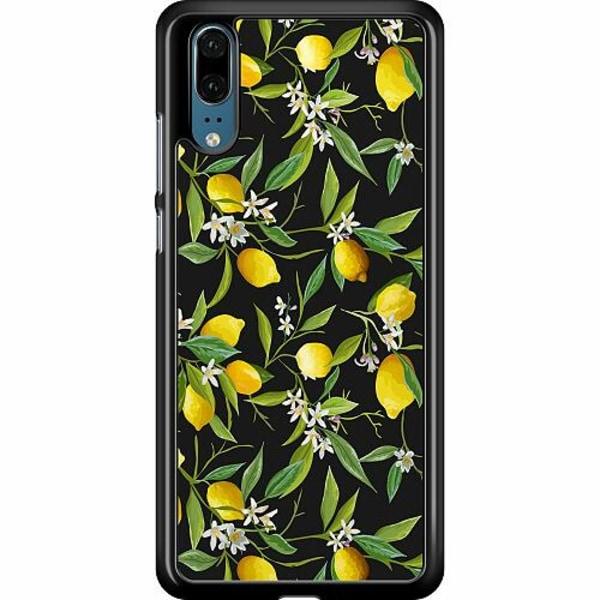 Huawei P20 Hard Case (Black) Lemonade