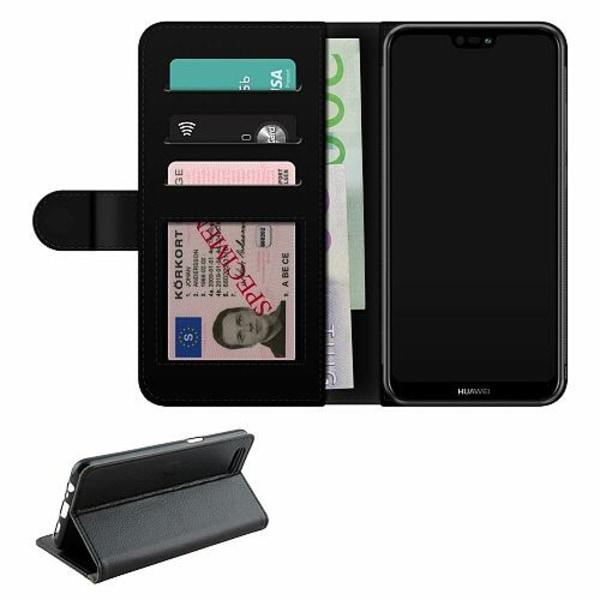 Huawei P20 Lite Fodralväska Smile or No Smile
