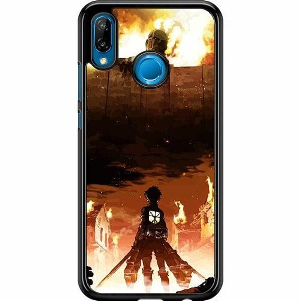 Huawei P20 Lite Hard Case (Svart) Attack On Titan