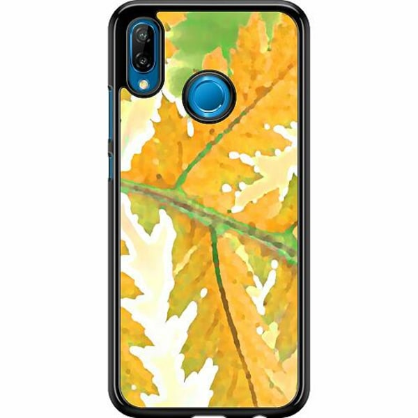 Huawei P20 Lite Hard Case (Svart) Autumn Left