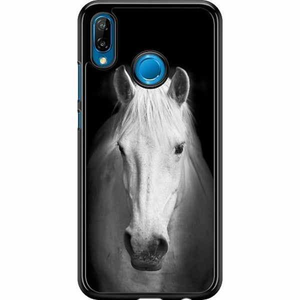 Huawei P20 Lite Hard Case (Svart) Häst