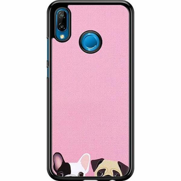 Huawei P20 Lite Hard Case (Svart) Hundar