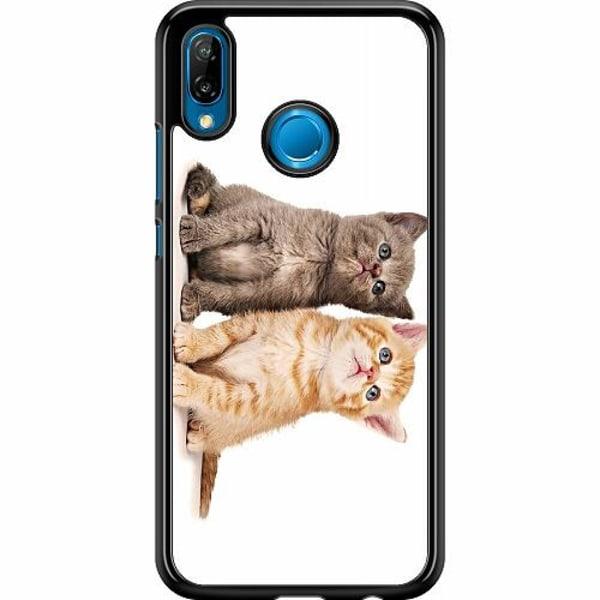 Huawei P20 Lite Hard Case (Svart) Katter