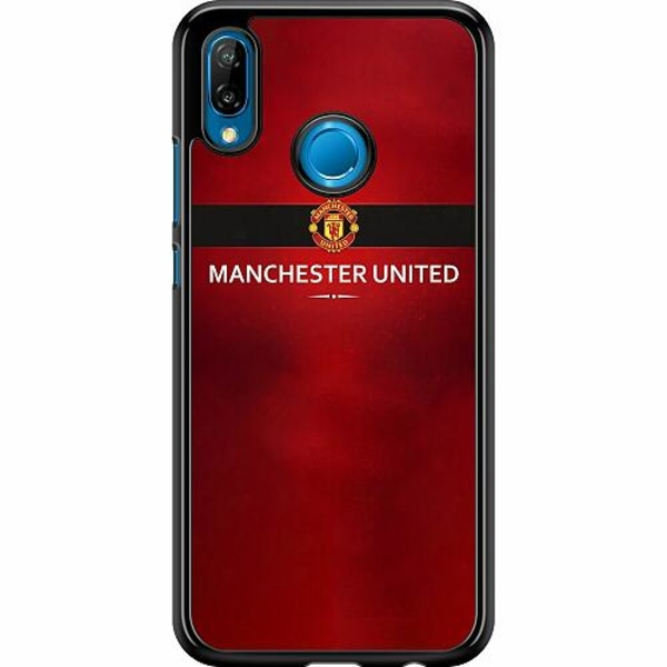 Huawei P20 Lite Hard Case (Svart) Manchester