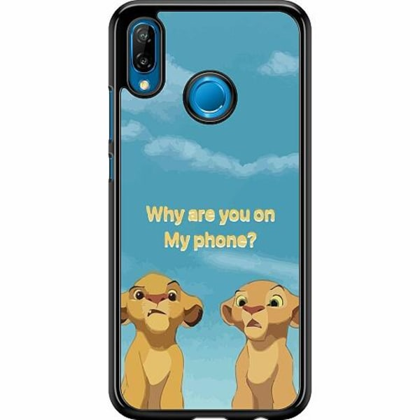 Huawei P20 Lite Hard Case (Svart) My Phone