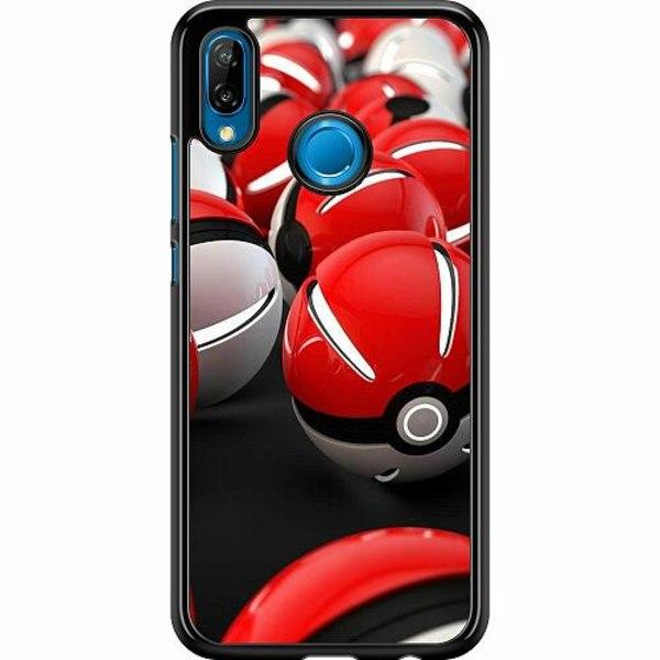 Huawei P20 Lite Hard Case (Svart) Pokemon