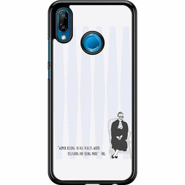 Huawei P20 Lite Hard Case (Svart) Ruth Bader Ginsburg (RBG)