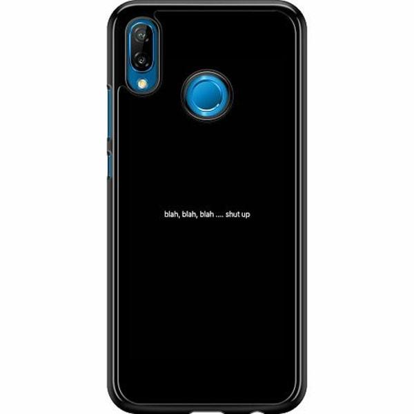 Huawei P20 Lite Hard Case (Svart) shut up