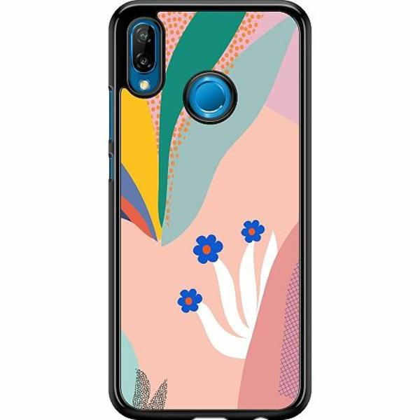 Huawei P20 Lite Hard Case (Svart) Surfs Up, Coral