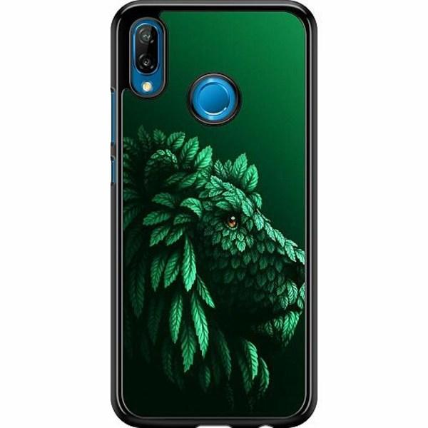 Huawei P20 Lite Hard Case (Svart) Vegan Lion