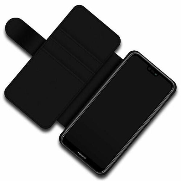Huawei P20 Lite Skalväska Bokstäver