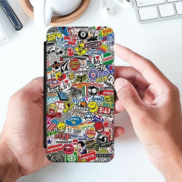 Huawei P40 Pro Slimmat Fodral Stickers