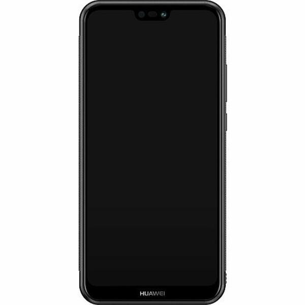 Huawei P20 Lite Soft Case (Svart) Manchester United