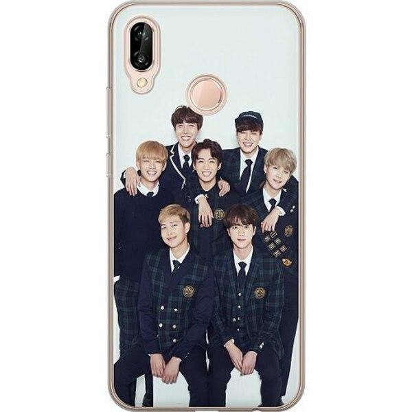 Huawei P20 Lite TPU Mobilskal K-POP BTS