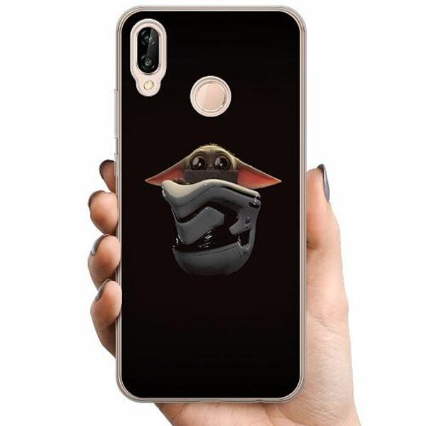 Huawei P20 Lite TPU Mobilskal Baby Yoda