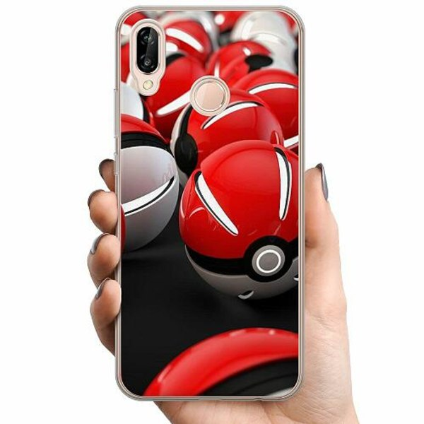 Huawei P20 Lite TPU Mobilskal Pokemon