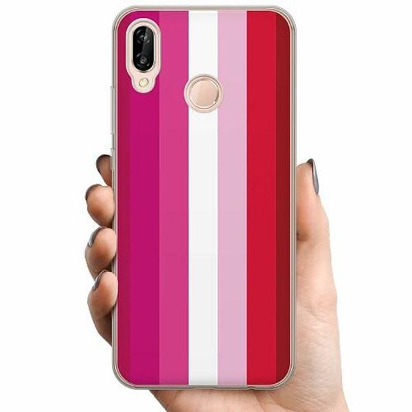 Huawei P20 Lite TPU Mobilskal Pride - Lesbian