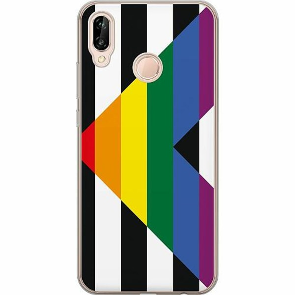 Huawei P20 Lite TPU Mobilskal Pride - Straight Ally