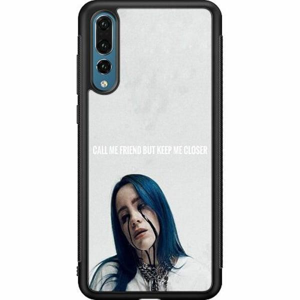 Huawei P20 Pro Soft Case (Svart) Billie Eilish