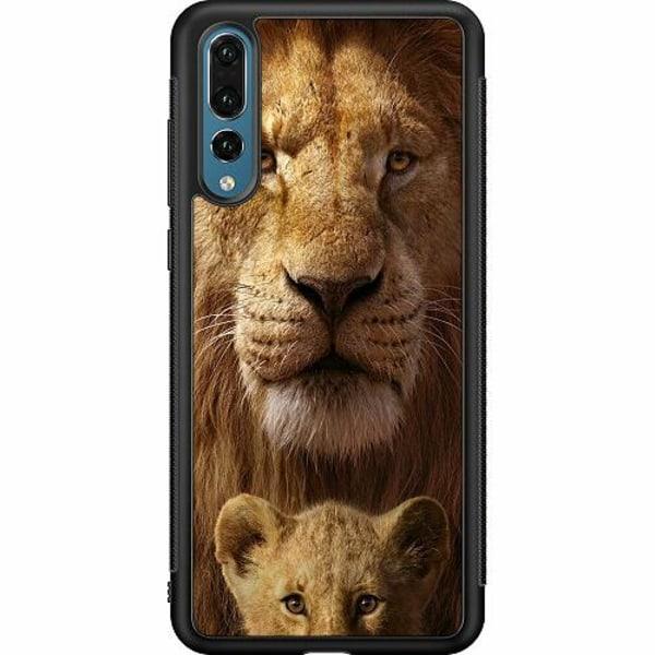 Huawei P20 Pro Soft Case (Svart) Lejon