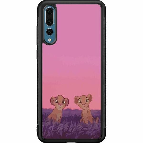 Huawei P20 Pro Soft Case (Svart) Pink