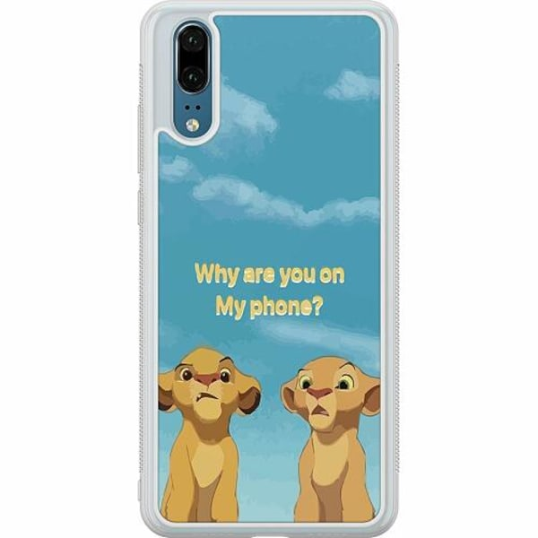 Huawei P20 Soft Case (Frostad) My Phone