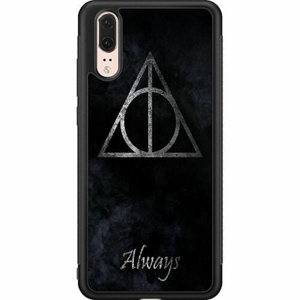 Huawei P20 Soft Case (Svart) Harry Potter