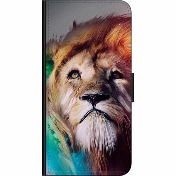 Apple iPhone 12 mini Billigt Fodral Lion