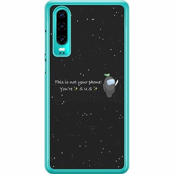 Huawei P30 Hard Case (Transparent) Among Us 2021
