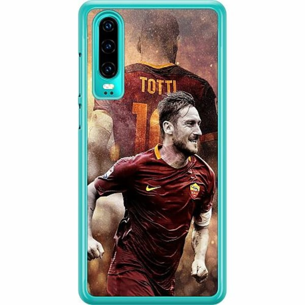 Huawei P30 Hard Case (Transparent) Francesco Totti