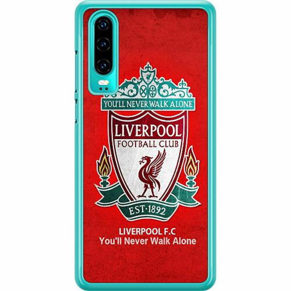 Huawei P30 Hard Case (Transparent) Liverpool