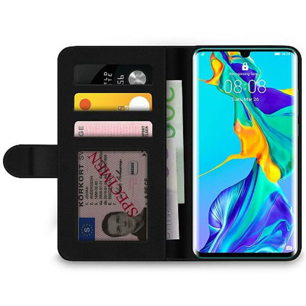 Huawei P30 Pro Wallet Case Diamant